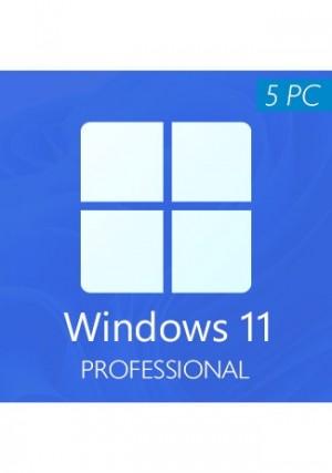 Windows 11 Professional CD-KEY (5 PCs)