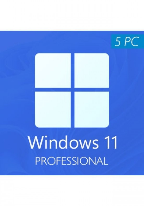 Windows 11 Professional CD-KEY (5 PC)