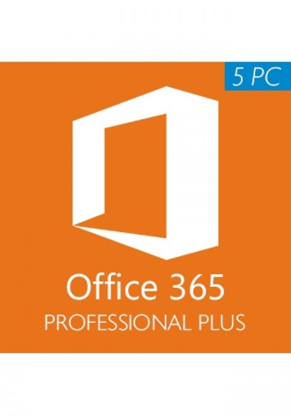 Microsoft Office 365 (1 Year) 5 Devices (Windows)