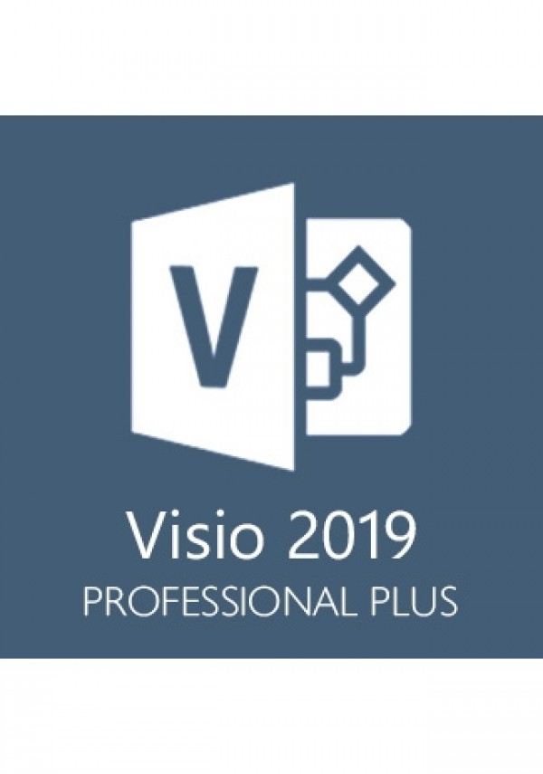 Microsoft Visio Professional 2019 1 User