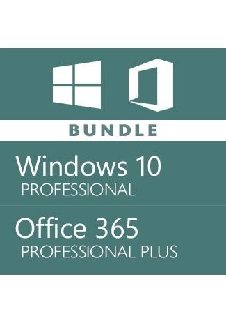 Windows 10 Pro + Office 365 Pro Plus Account -Bundle
