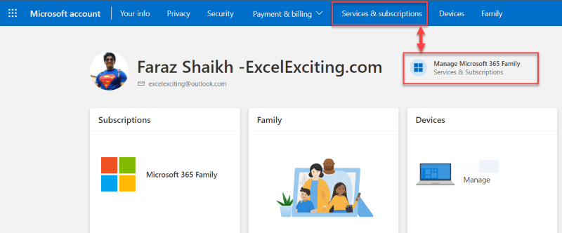 Office 365 Family