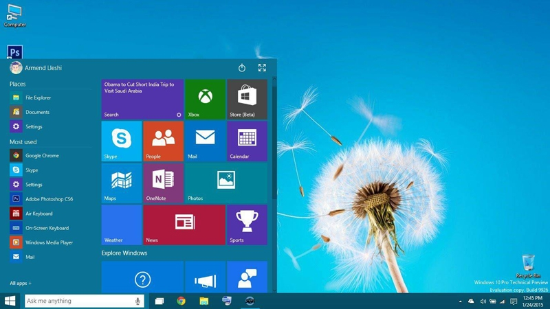 windows 10 pro 5 pc